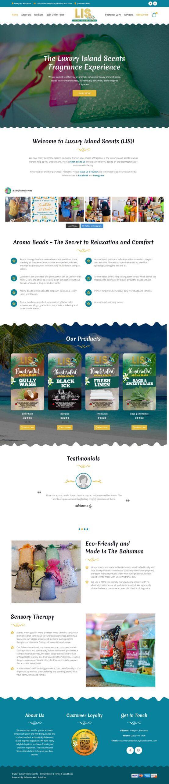 Luxury Island Scents